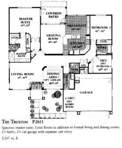 Sun City West Floor plans