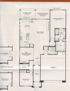 CantaMia Floor Plans