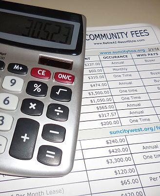 Compare PHX Retirement Community HOA Fees