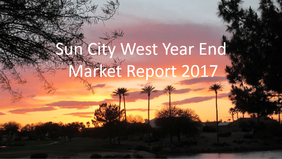 Sun City West Year End Market Report 2017