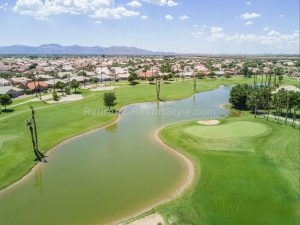 Golf course and water views in sun city west