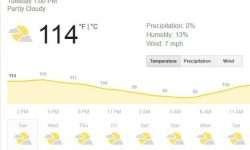 New Daily Heat Record set in Phoenix Monday