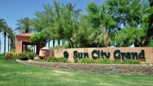 Sun City Grand entrance