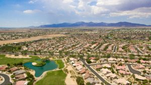 Arial view of Sun City West