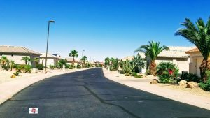 street view of multiple homes in Arizona Traditions