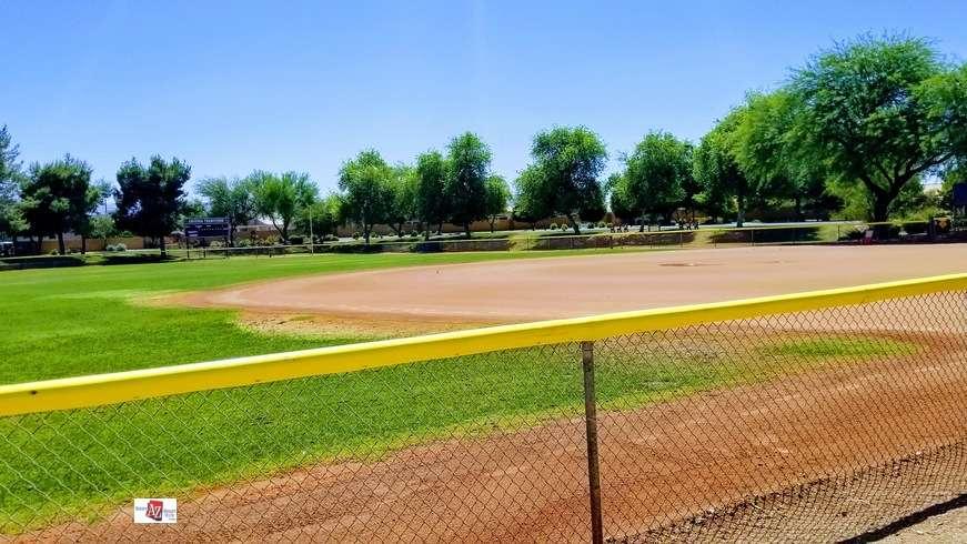 Soft Ball field in Arizona Traditions