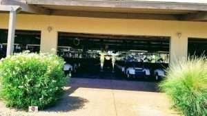 golf carts in the golf clubs garage, Arizona Tradtions