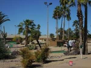 miniature golf in Sun City AZ
